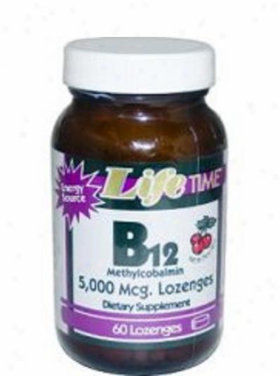 Liffetime's B-12 5000mcg 60lzgs