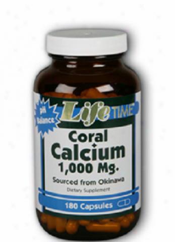 Lifetime's Coral Calcium 1000mg 180caps