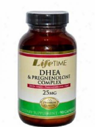 Lifetime's Dhea & Pregnenolone Comp1ex 25mg 90caps