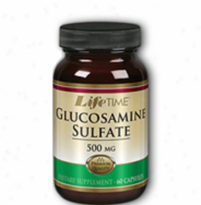 Lifetime's Glucosamine Sulfate 500mg 120caps