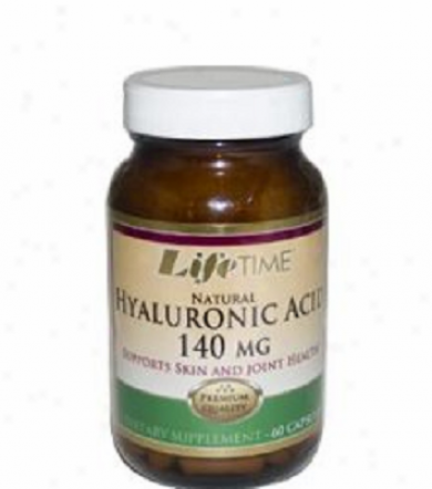 Lifetime's Hyaluronic Acid 140mg 60caps