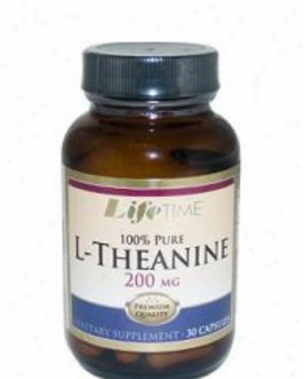 Lifetime's L-theanine 200mg 30caps