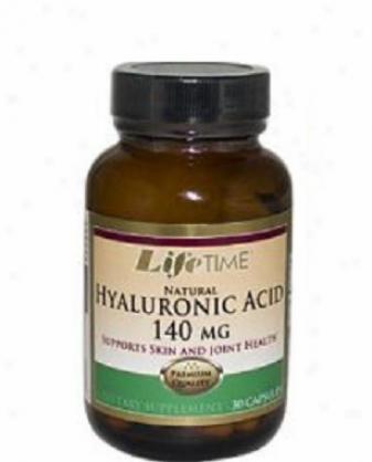 Lifetime's Ntaural Hyaluronic Acid 140mg 30caps