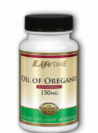 Lifetime's Oil Of Oregano Extract 150mg 60sg