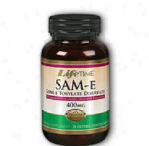 Lifetime's Sam-e 400mg (maximum Strength) 20tabs