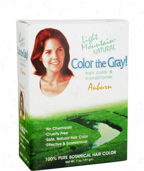 Light Mountain's Color The Gray Auburn 7 Fl Oz