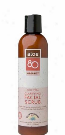 Lily Of The Desert's Aloe 80 Organics Clarifying Facial Scruv 8 Fl Oz