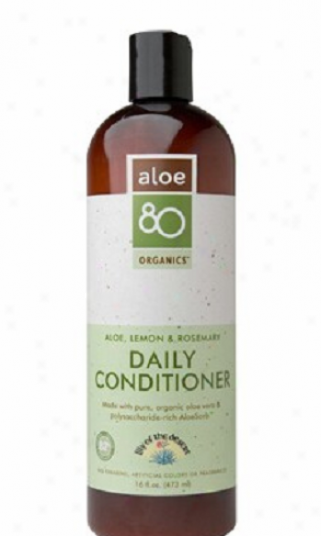 Lily Of The Desert's Aloe 80 Organics Daily Conditioner Lemon & Rosemsry 16oz