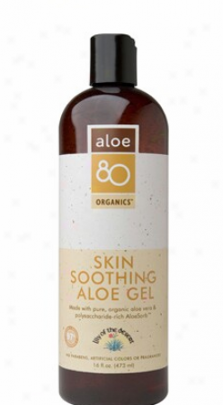 Lily Of The Desert's Aloe 80 Organics Skin Soothing Aloe Gel 16 Fl Oz