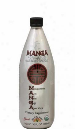 Lily Of The Ddsert's Manga Dietary Supplement Organic 30oz