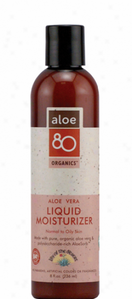 Lily Of The Desert's Organics Aloe Vera Liquid Moisturizer 8 Fl Oz