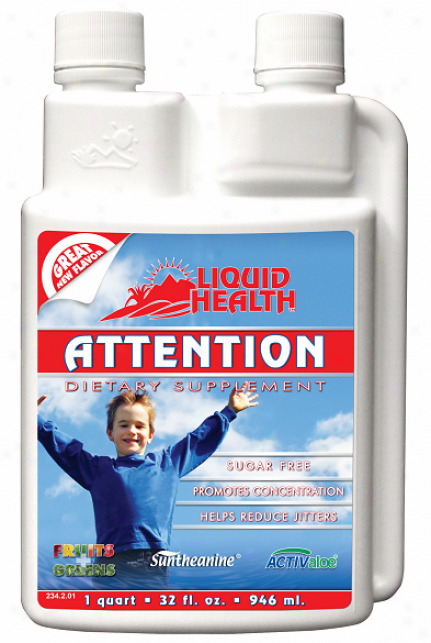 Liquid Health's Attention 8 Fl Oz