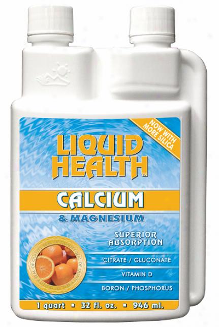 Liquid Health's Calcium & Magnesium 8oz