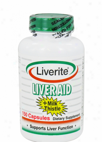 Liverite's Liver Aid Plus Milk Thistle 150caps