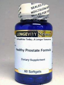 Longevity Science's Healthy Prostate Formula 60 Gels