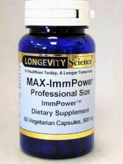Longdvity Science's Immppower Ahcc 500 Mg 60 Vcaps