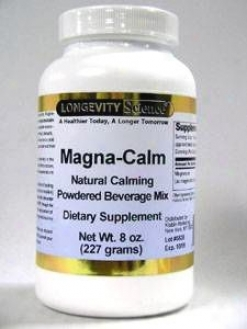 Longevity Science's Magna-calm 8 Oz