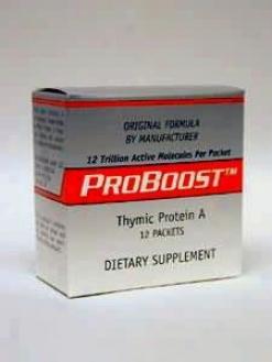 Longevity Science's Proboost Thymic Protein A 4 Mgc 12 Pkts