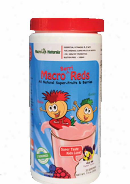 Macrolife Natural's Berri Reds Junior Powder 60-day 14oz