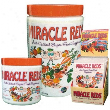 Macrolife Natural's Mracle Reds Antioxidant Superfood Supplement Packets 12pkts