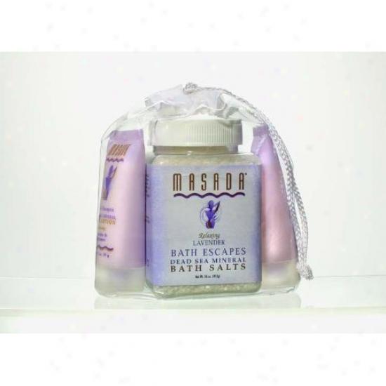 Masda's Bath Escapes Relaxing Lavender Violin 3pcs