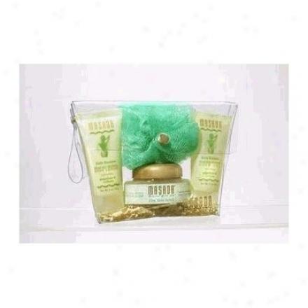 Masada's Bath Scrub Kit Dry Skin 1kit