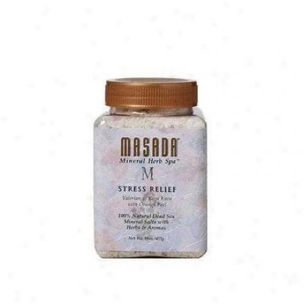 Masada's Herb Spaã¿â¿â¾ Stress Relief Bath Salts 16oz