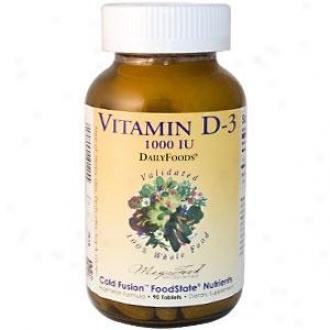 Megafood Dailyfoods Vitamin D-3 1000iu 90tabs