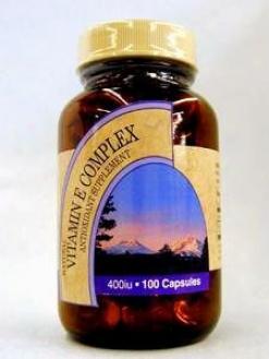 Metabolic Maintenance Vitamin E Complex 400 Iu 100 Gels