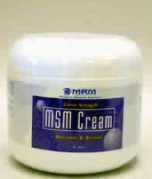 Metabolic Response Modifier Msm Cream 4 Oz
