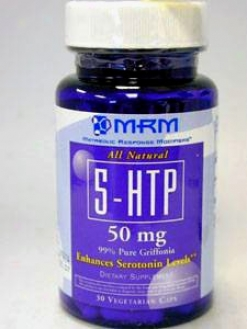 Metabolic Response Modifier's 5htp 50 Mg 30 Caps