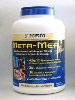 Metabolic Response Modifier''s Meta-meal - French Vanilla Shake 3.5 Lbs