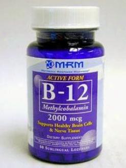 Metabolic Response Modifier's Vitamin B-12 - Methylcobalamin 60 Loz