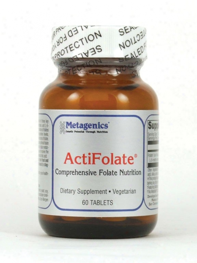 Metagenics Actifolate 800 Mcg 60 Tabs