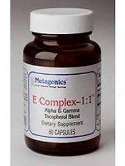 Metagenics E Complex 1:1 Alpha&gama 60 Gels