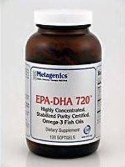Metagenics Epadha 720 Lemon 120 Gels