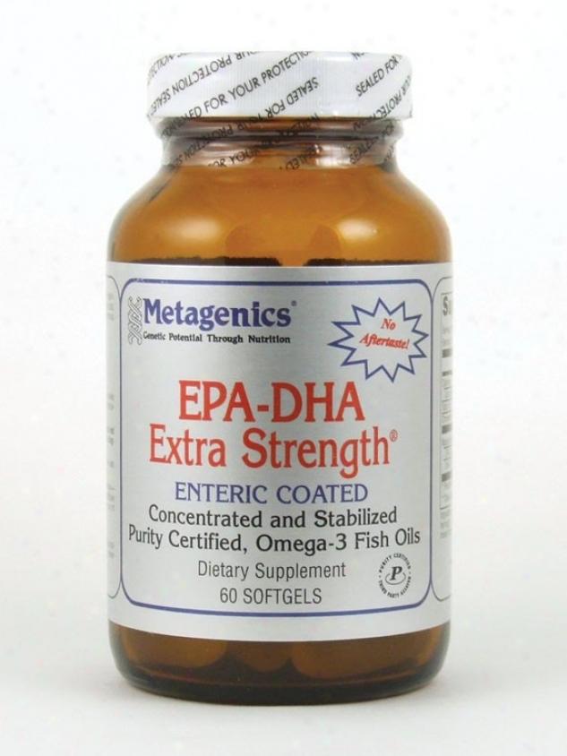 Metagenics Epadha(300/200)xtrasth Lemon 60 Gels