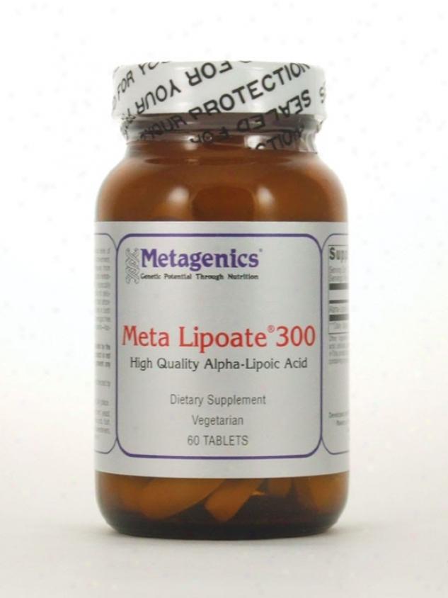Metagenics Meta Lipoate Alipoic 390 Mg 60 Tabs