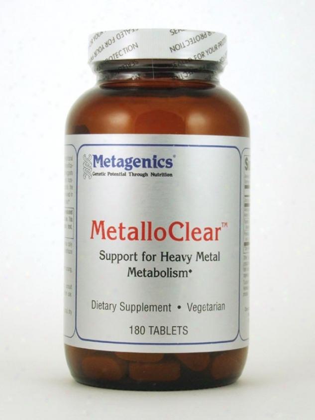 Metagenics Metalloclear 180 Tabs