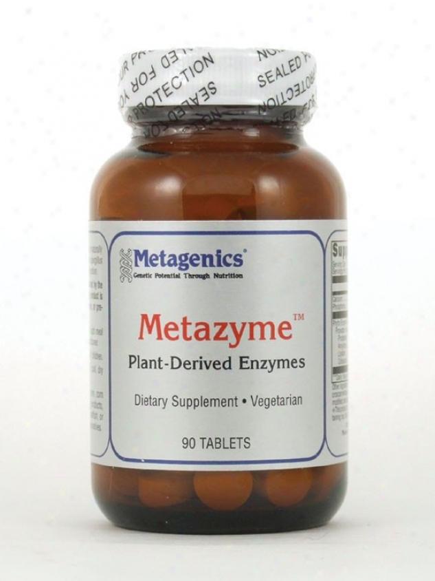 Metagenics Metazyme Plant Enzymes 90 Tabs