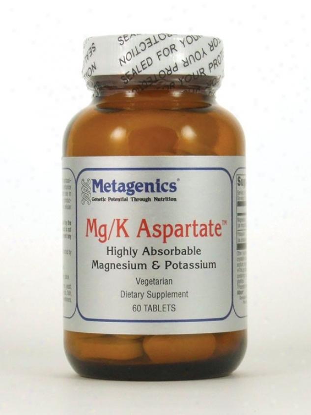 Metagenics Mg/k Aspartate 60 Tabs