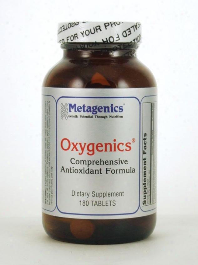 Metagenics Oxygenics Antioxidant 180 Tabs