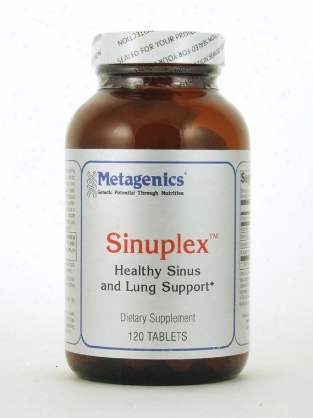 Metagenics Sinuplex Sinus 120 Tabs