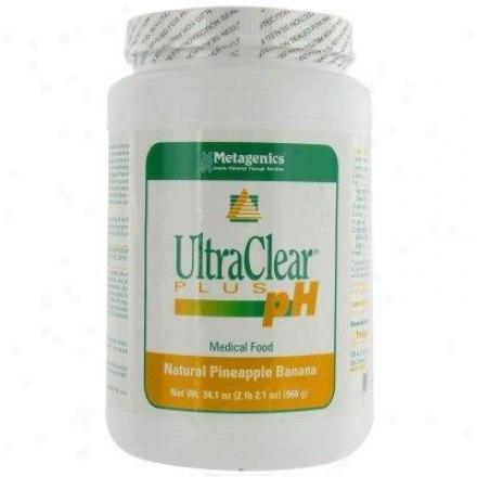 Metagenics Ultraclear Plus Ph/rice Pin/ban 34.1oz
