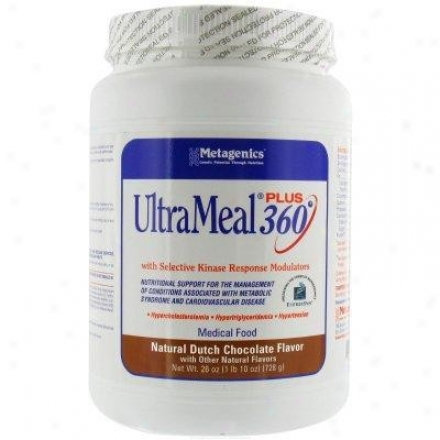 Metagenics Ultrameal Plus 360/soy Chocolate 25.7