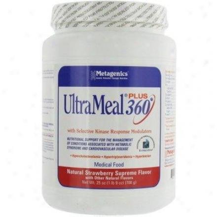 Metagenics Ultrameal Plus 360/soy Strawberry 25.7