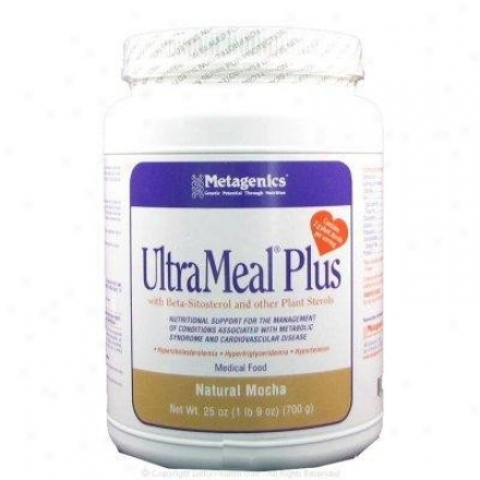 Metagenics Ultrameal Plus/beta Sit/soymocha 25 Oz