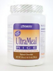 Metagenics Ult5ameal/rice Chocolate 82 Oz