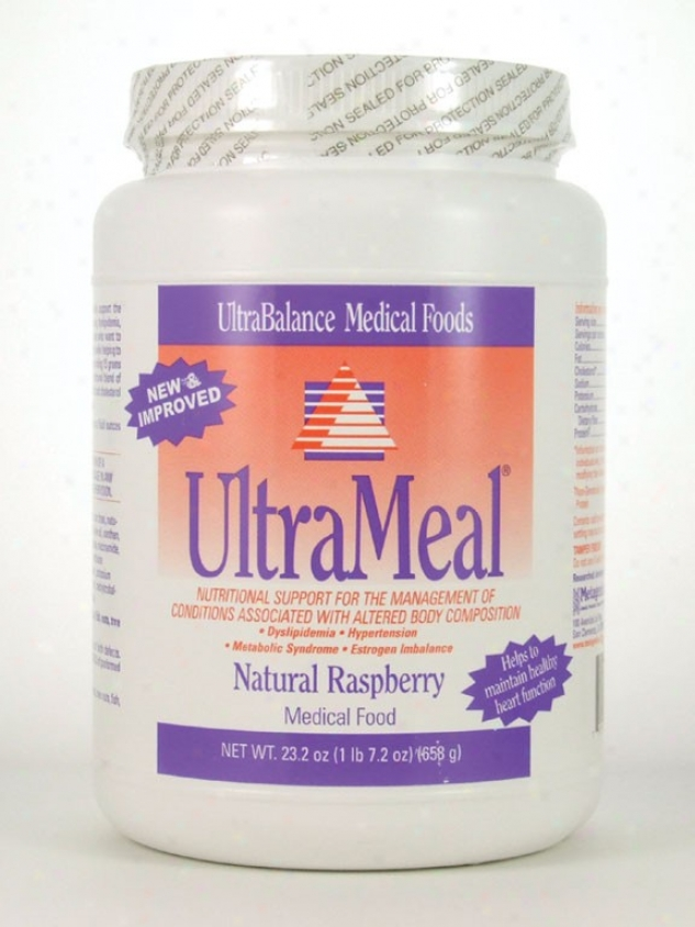 Metagenics Ultrameal/soy Raspberry 23.3 Oz