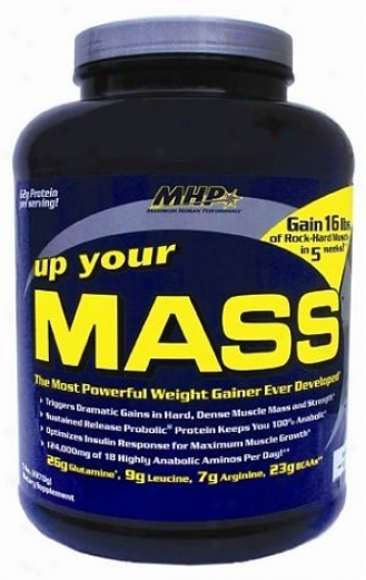 Mhp's Up Your Mass Powder Choc 5lb